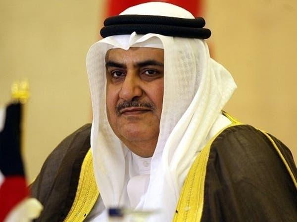 وزير الخارجية البحريني: يجب وضع حد لمأساة الشعب السوري