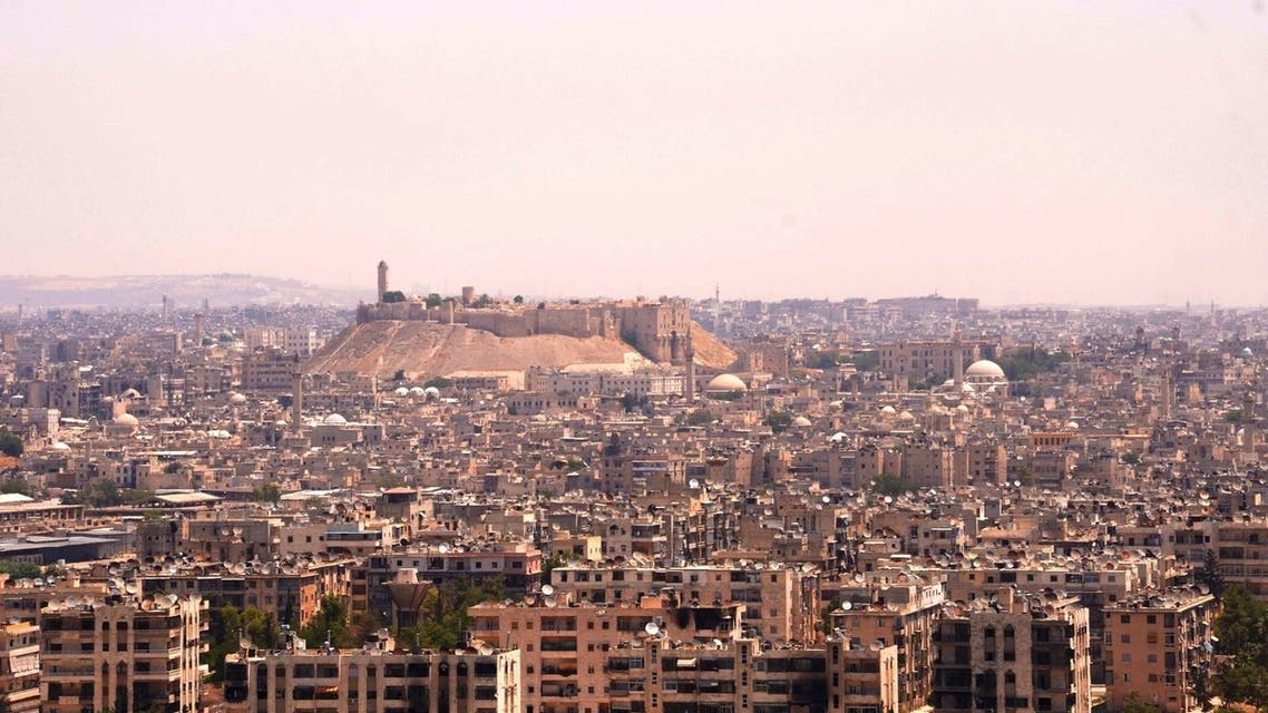 A general view of Al Zibdeh and Jisr Al-Haj, controlled by Free Syrian Army fighters, in Aleppo June 29, 2013. (Syria)