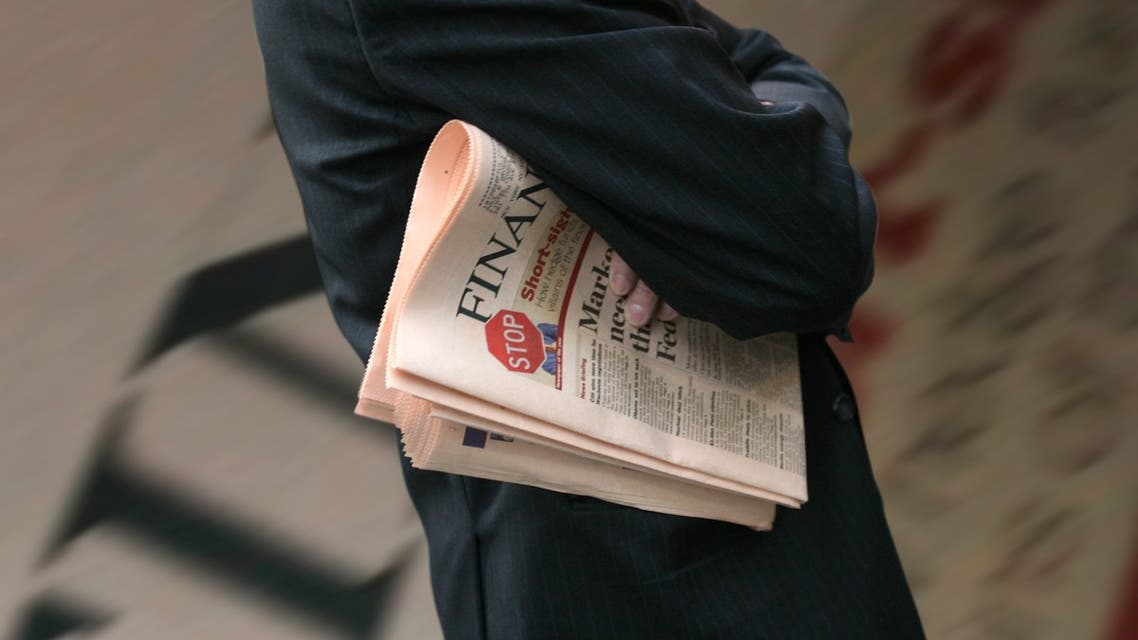 The London-listed Pearson has denied that the Financial Times Group is up for sale. (File photo: AP)
