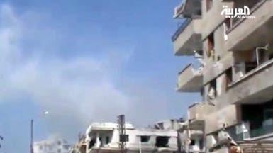 النظام يستخدم الأحياء الموالية ويدمر حمص عاصمة الثورة