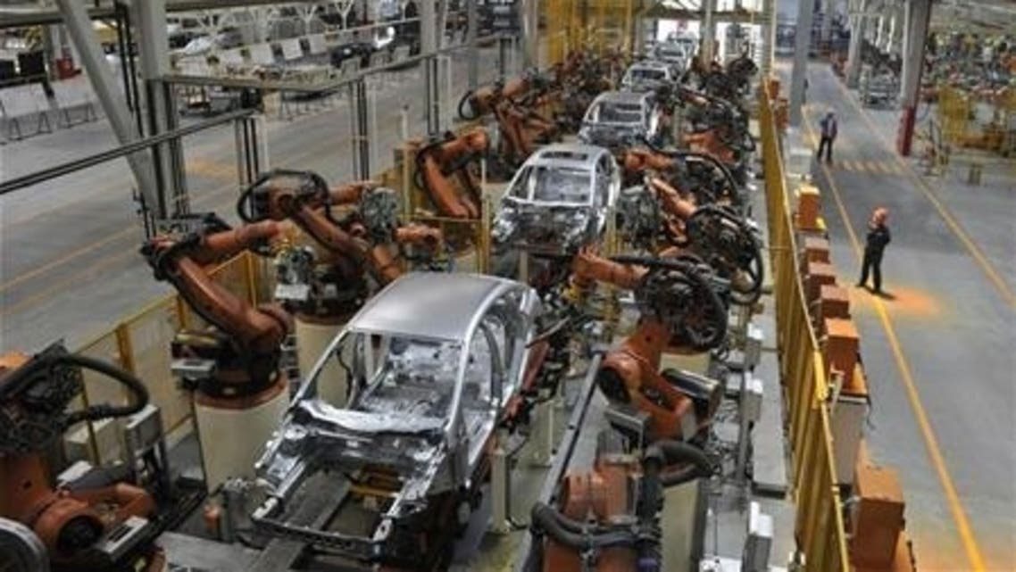 Ford production line reuters