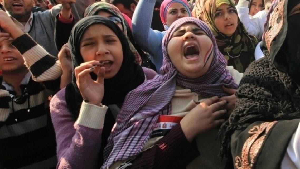 woman in tahrir