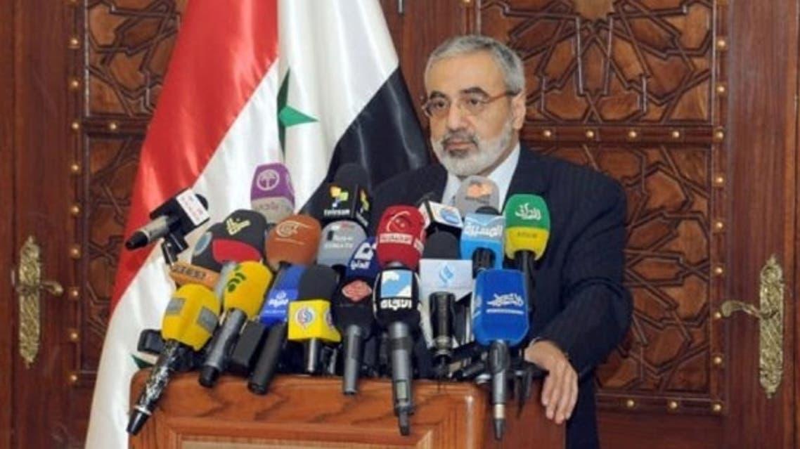 Syrian-Information-Minister-Omran-al-Zohbi-via-AFP fp