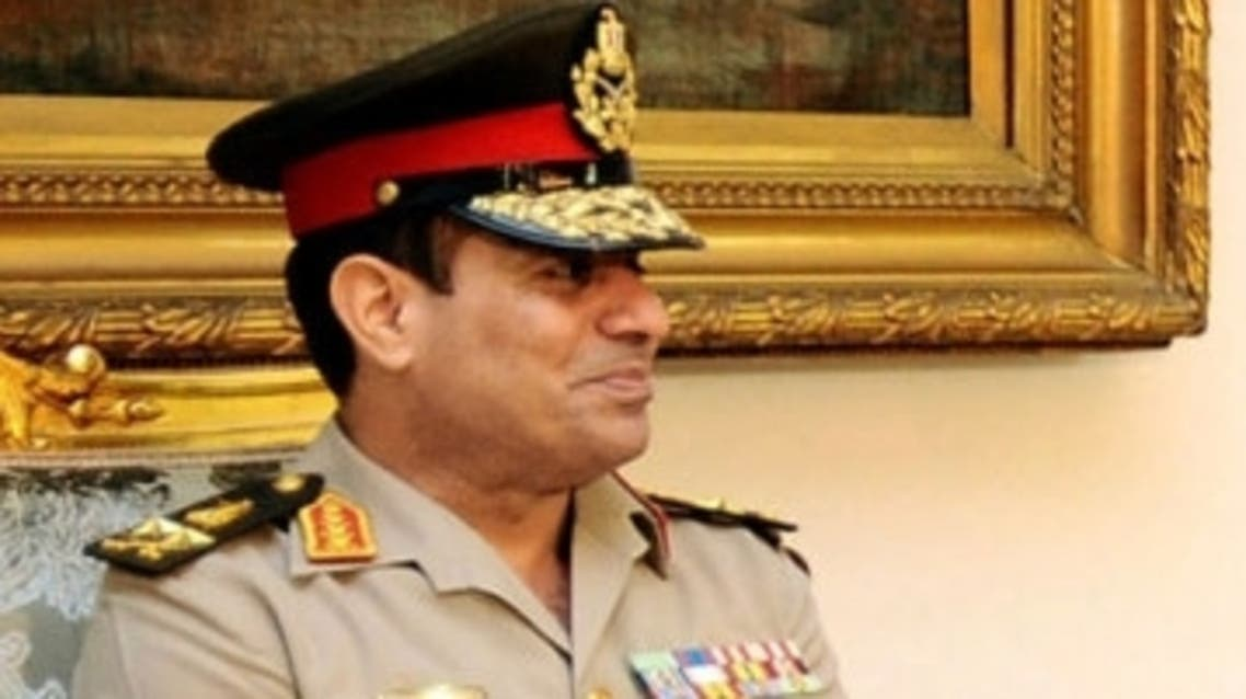 Egypt's  Defence Minister General Abdel Fattah el-Sisi (Reuters)