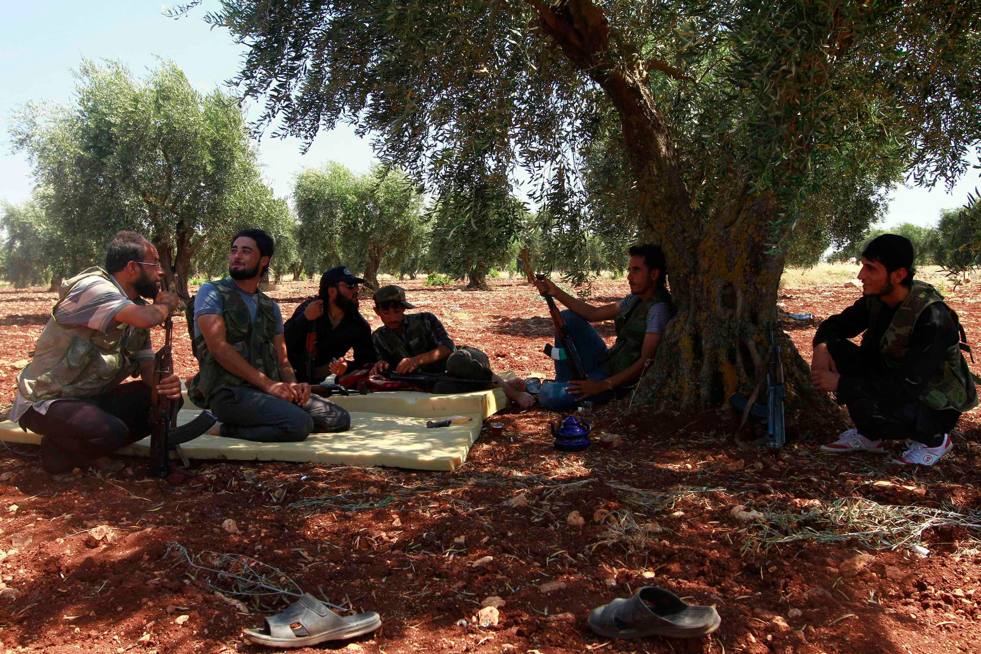 Free syrian army's fight continues