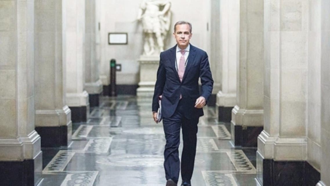 محافظ البنك المركزي البريطاني الكندي مارك كارني