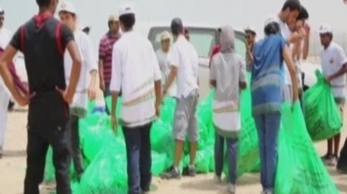 From young people cleaning Doha's beaches to initiatives being set up to help the country's youth find jobs, charity groups say Qataris are becoming more aware of social issues and are keen to get involved in volunteering projects. (Reuters)