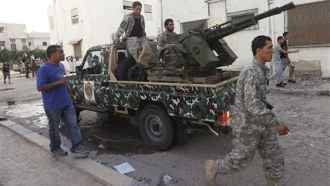 Libyan militia (Reuters)