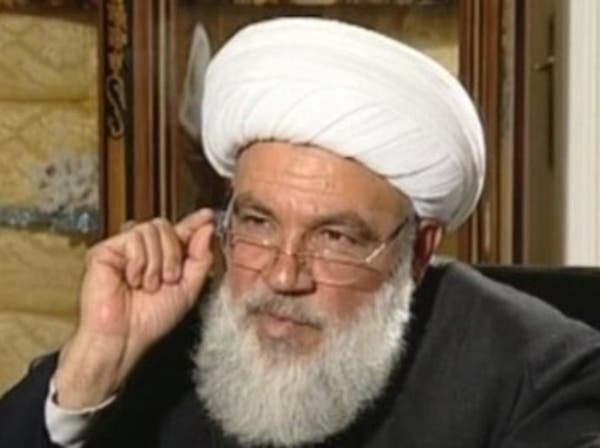 رجل دين شيعي يهاجم خامنئي: مسلحوك قتلوا عراقيين ولبنانيين