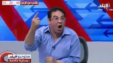 خطاب مرسي يثير جنون أحد الناشطين على الهواء