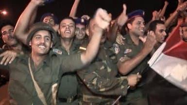 الحرس الجمهوري يشارك الشعب في احتفالات عزل مرسي