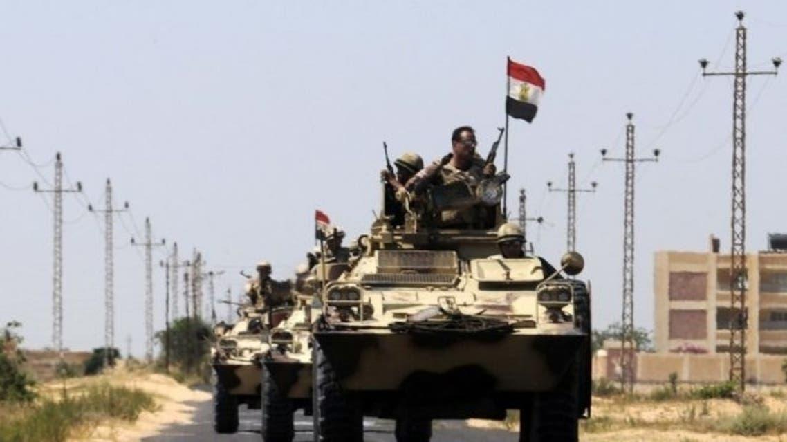 Sinai egypt army