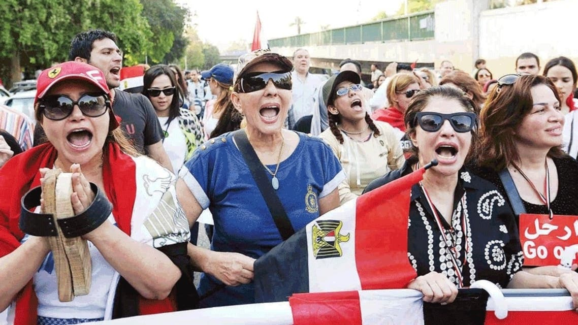 نجمات مصر في ميدان الكرامة