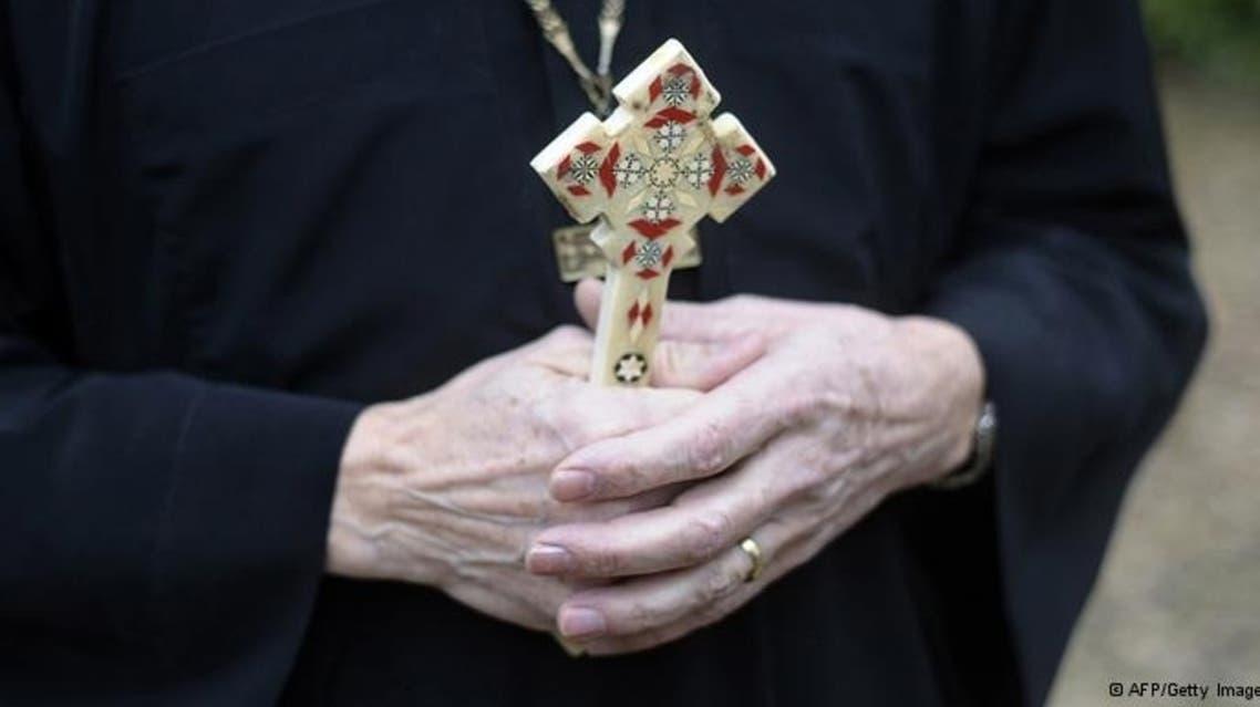 coptic priest afp