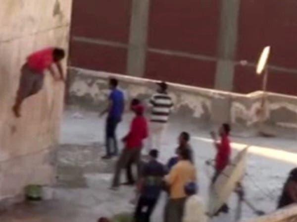 فيديو جديد لجريمة إلقاء 3 صبية من سطح بناية بالإسكندرية