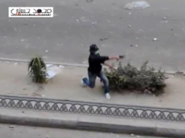 أنصار الإخوان يستخدمون الرصاص الحي خلال المظاهرات