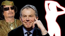 'Hi girls,' Blair tells Qaddafi's teen sex slaves: report