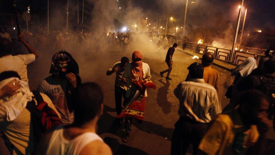 Pro-Mursi protest
