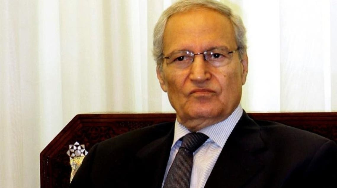 A picture taken on 26 August 2012 shows Syrian Vice President Farouk al-Sharaa in Damascus. (File photo: AFP)