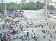 الشرطة التركية تمنع متظاهرين من الوصول لميدان تقسيم