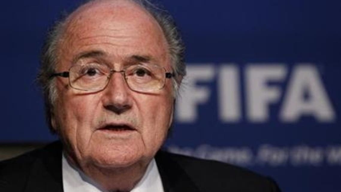 FIFA President Sepp Blatter addresses a news conference in Zurich November 30, 2011. (File photo: Reuters)