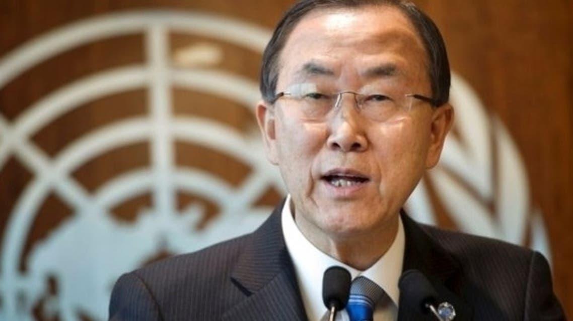اقوام متحدہ کے سیکرٹری جنرل بانکی مون