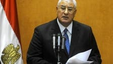 مصر کا نیا صدر مکمل بااختیار ہوگا:عدلی منصور