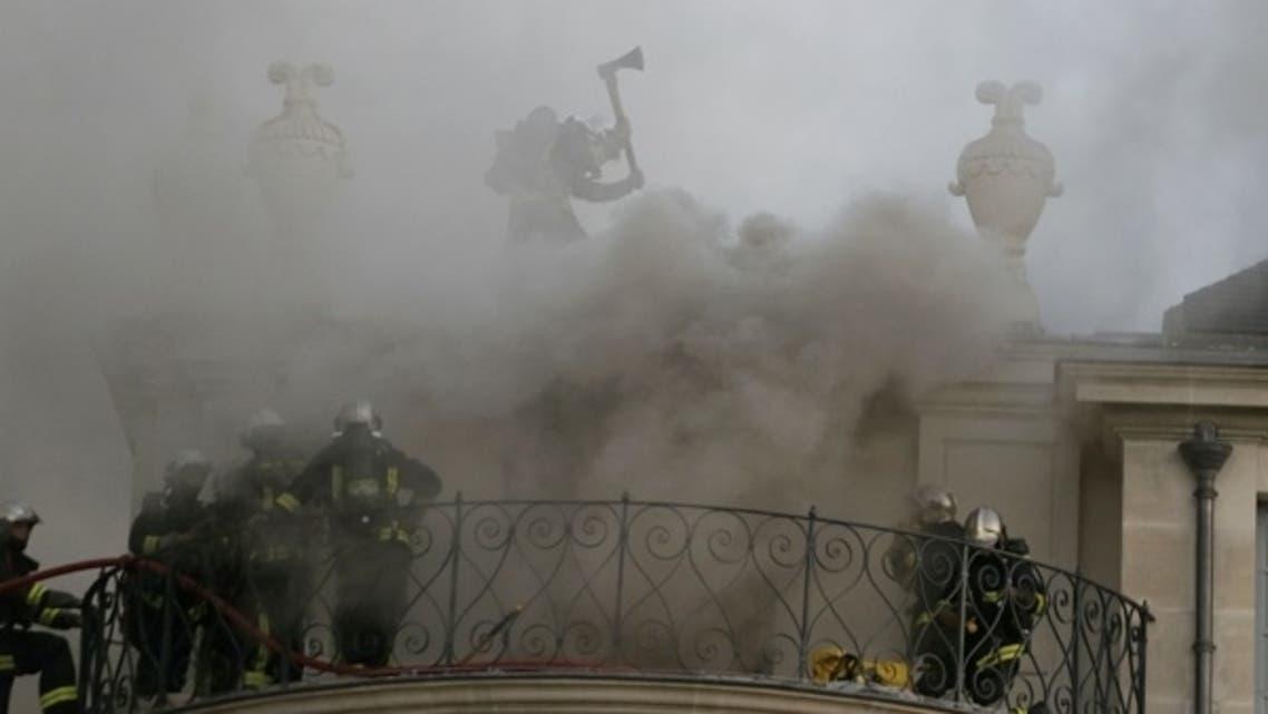 Qatari-owned Hotel Lambert on fire