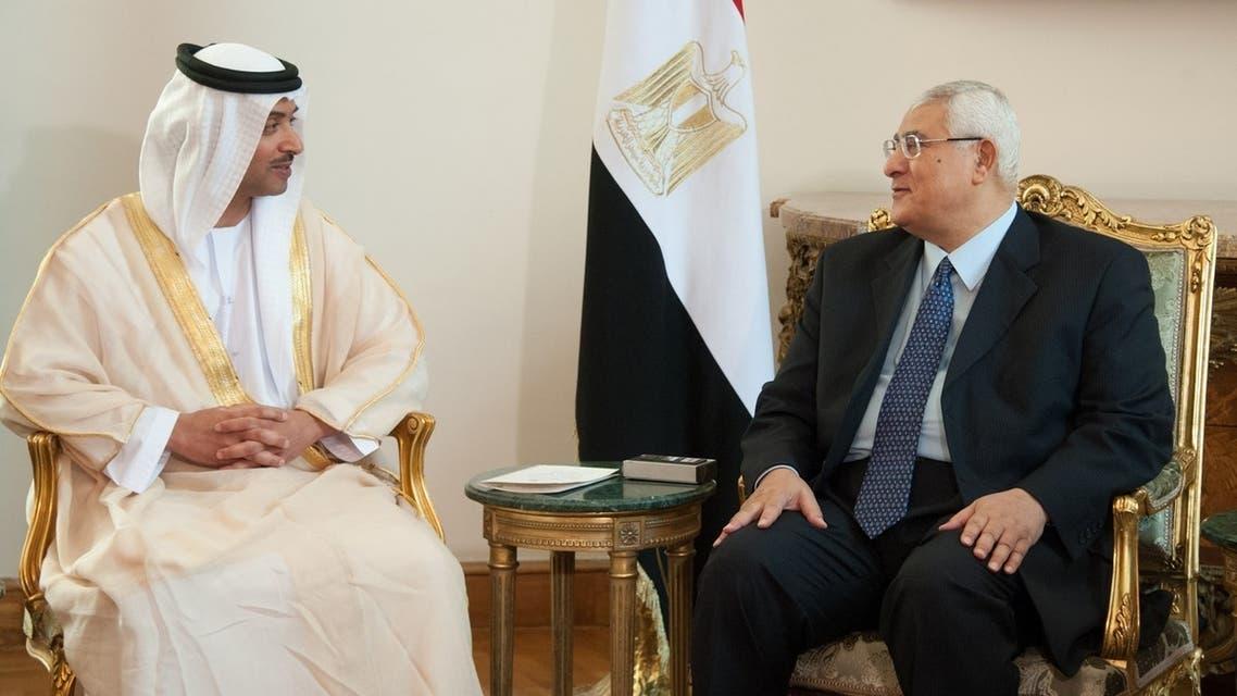 زيارة الإمارات إلى مصر