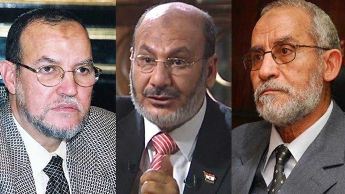 محمد بديع وعصام العريان وصفوت حجازي