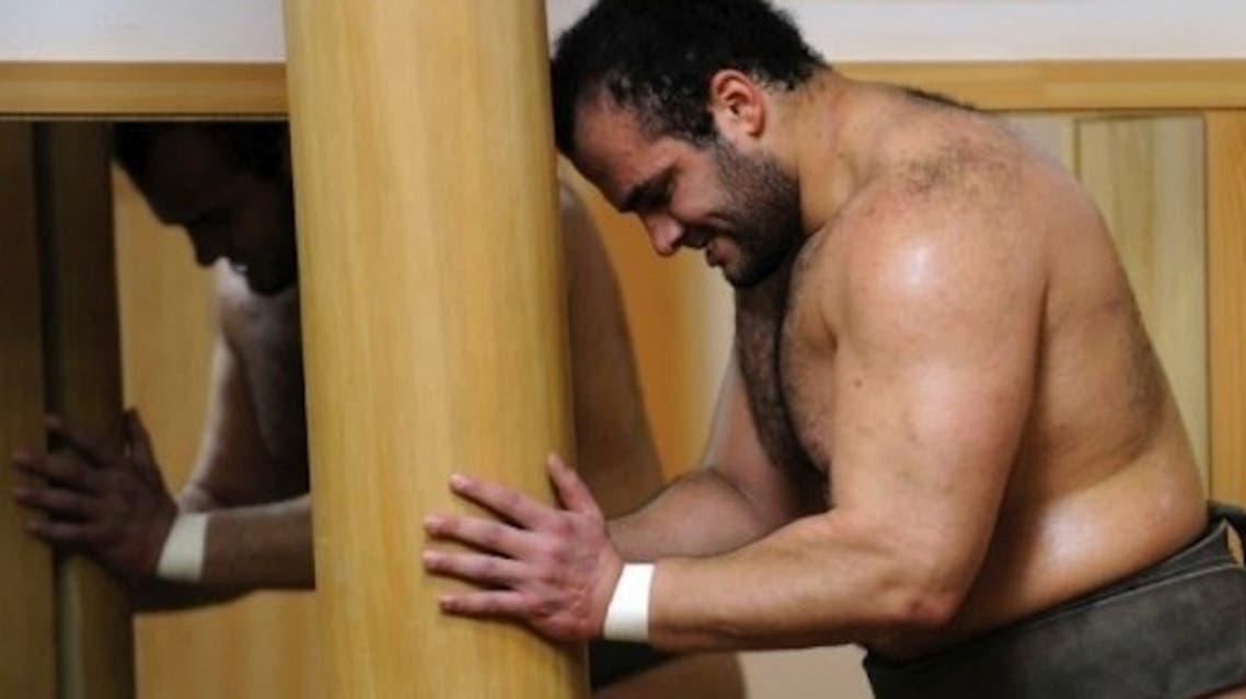 Egypt Sumo wrestler