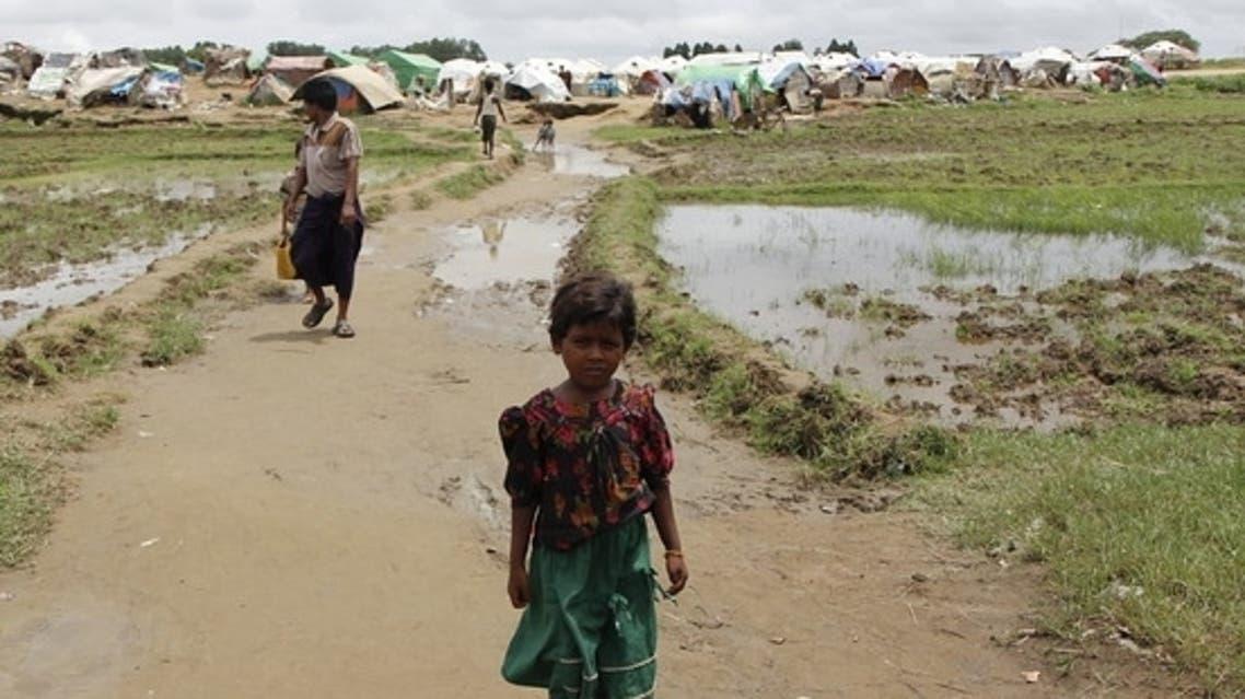 لاجئون مسلمون غربي ميانمار