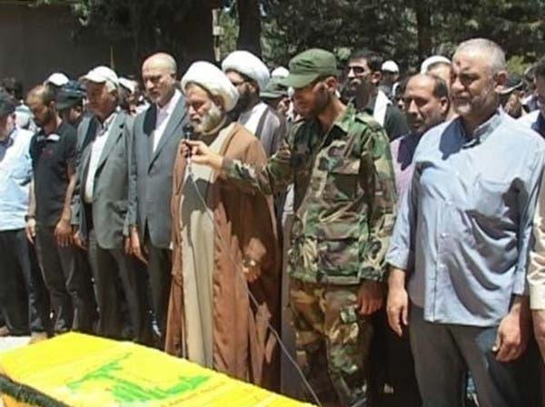 حزب الله يشيع 3 قتلى سقطوا في معارك حمص
