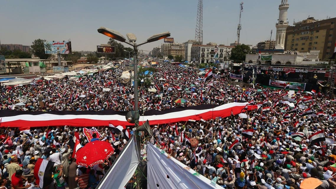 Mursi supporters show loyalty