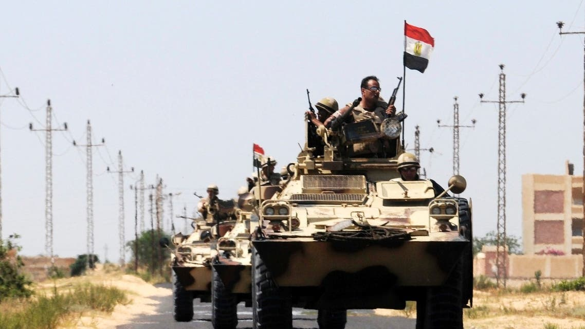 egypt army sinai reuters
