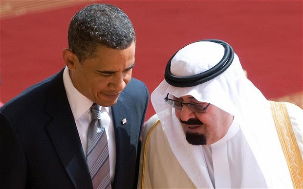 Obama-Saudi (AFP)
