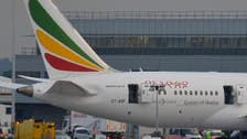 Ethiopian Airlines aircraft catches on fire at Britain's Heathrow airport