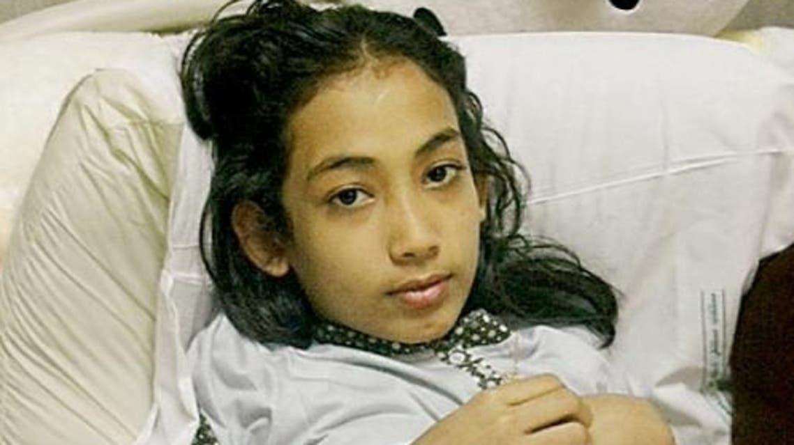 Reham Al-Hakami in hospital. — SG file photo