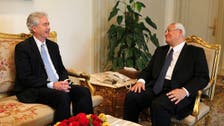 Senior U.S. official visits Egypt, calls for dialogue