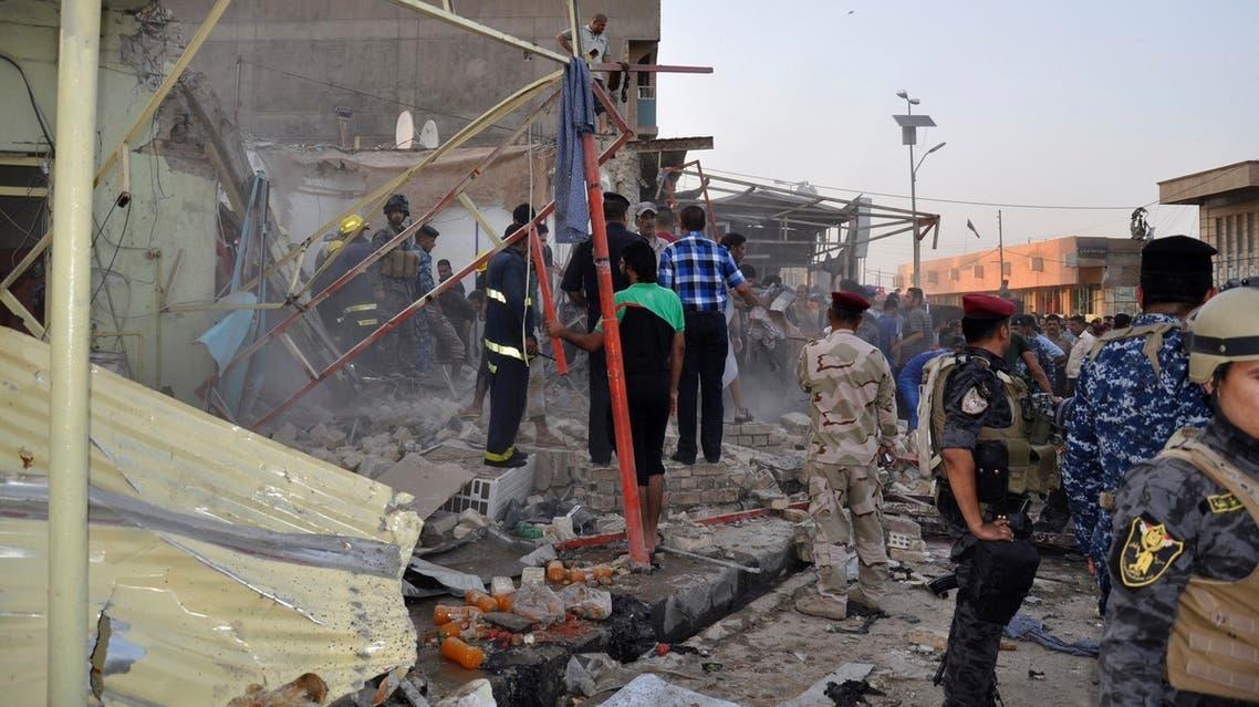 Iraq: Bombs and scorching heat