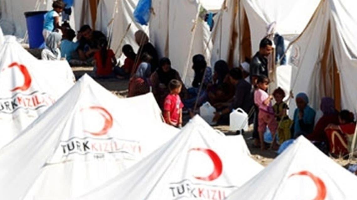 أحد مخيمات اللاجئين السوريين في تركيا