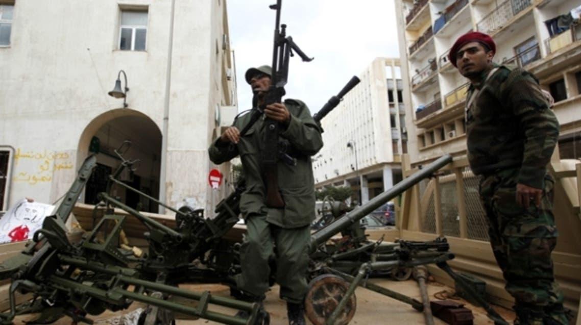 جنود من الجيش الليبي