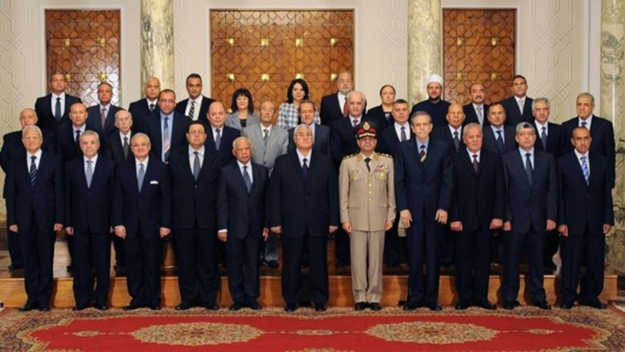 Women, Christians, but no Islamists in Egypt's new Cabinet