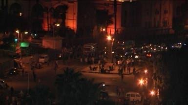 أنصار الإخوان يقطعون كوبري 6 أكتوبر والشرطة تطلق الغاز