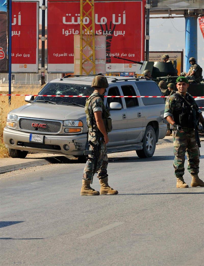 عناصر من الجيش اللبناني  في البقاع(أرشيفية)