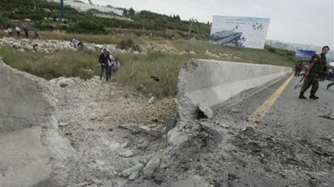 Several small roadside bombs have been set off near the Syrian border crossing in recent months. (File photo: Reuters)