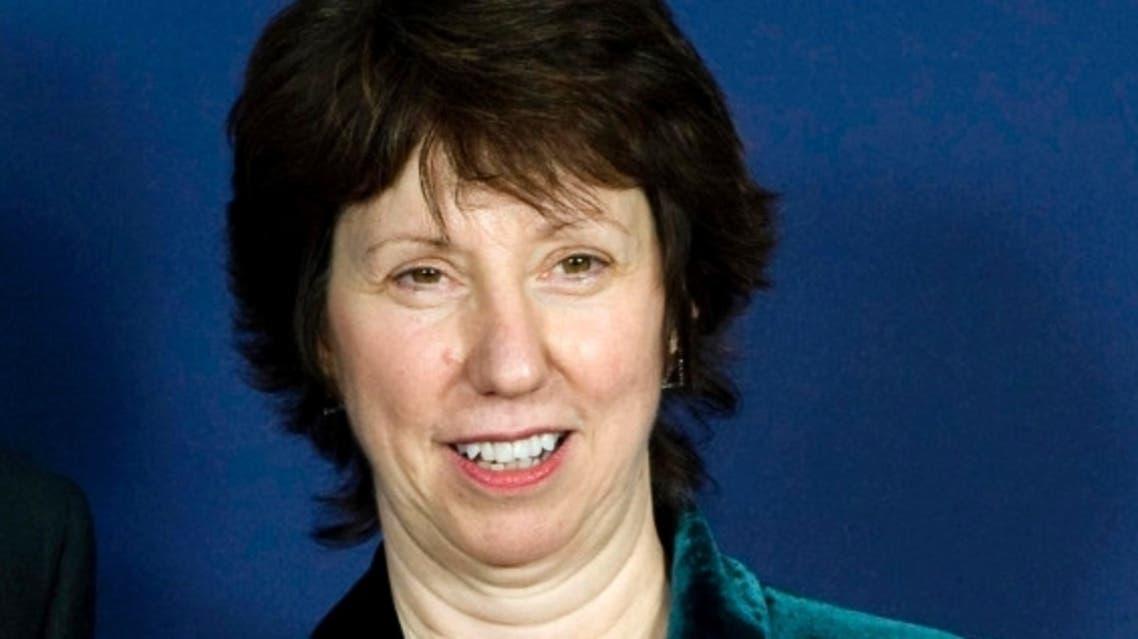 وزيرة خارجية الاتحاد الأوروبي كاثرين آشتون