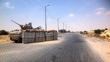 هجوم بالصواريخ والقذائف على مقرات للجيش المصري بسيناء