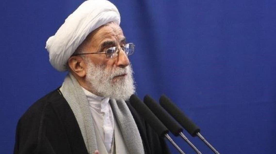 رئيس مجلس صيانة الدستور الايراني احمد جنتي