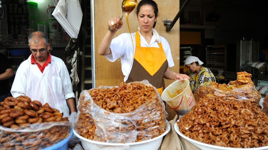 حلوى الشباكية هي سيدة المائدة الرمضانية في المغرب دون منازع